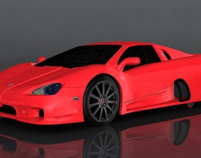 SSC Ultimate Aero 3D model