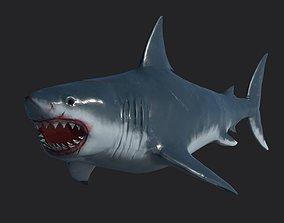 Shark Megalodon 3D model