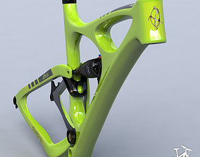 3D model Knolly Podium green