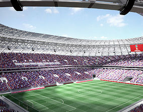Luzhniki Stadium Mosco 3D