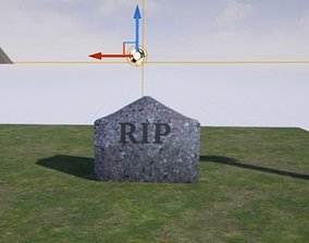 3D Grave Collection realtime exterior-public