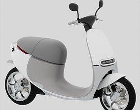 GOGORO electro scooter 3D