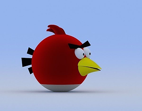 Angry Birds game 3D