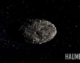 3D model DWARF PLANET---HAUMEA 4K