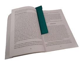 Standard Bookmark 3D print model