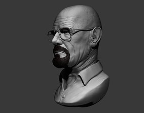 Walter White 3D print model character