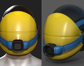 3D model Gas mask helmet scifi fantasy armor hats
