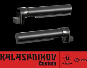 AK - Stock - AR15 Adapter 3D asset