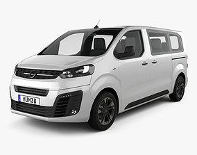 3D model Opel Zafira Life 2019