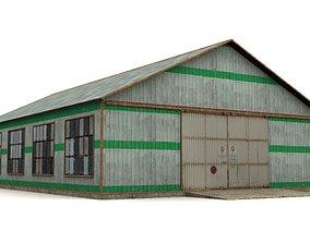Hangar 3D asset family