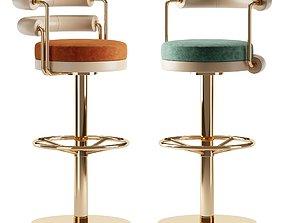3D model Bar chair OTIS