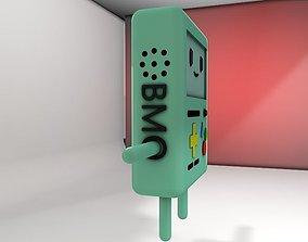 3D asset BMO adventure timmes