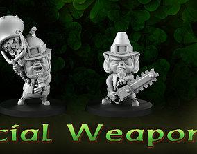 3D printable model Special weapon leprechauns