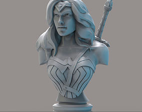3D print model Wonder Woman2