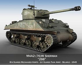 3D model M4A2 Sherman - 288 - Russia