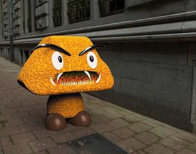 3D asset Goomba