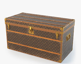 3D Louis Vuitton Trunk