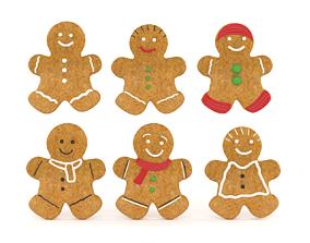 3D model Gingerbread Cookies
