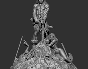 3D print model Fan Art - Conan