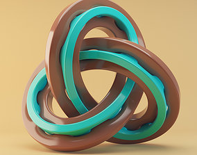 abstract knot 3D