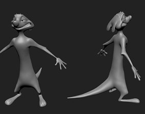 3D model timon