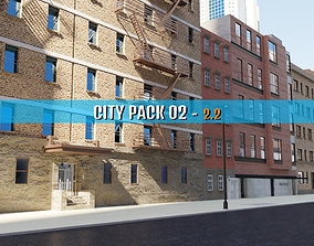 City Pack 02 3D model low-poly