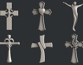 bible 3d STL models for CNC cross set 4