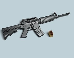 M4A1 Rifle 3D model 56