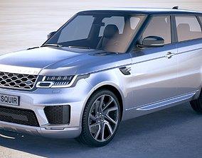 3D Range Rover Sport PHEV 2018