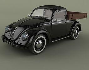 Volksvagen Beetle Pick-up 3D
