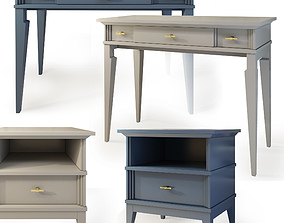 3D model Console table and nightstand Manhattan by