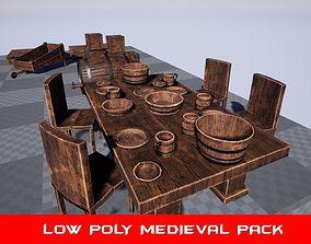 Medieval Props Pack 1 3D model