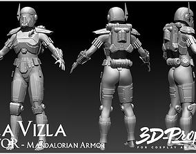 SHEA VIZLA FULL ARMOR SWTOR 3D FILES