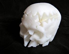 3D print model Rotating Skull Gear
