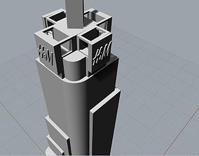 3D printable model skyscraper HyM Times Square