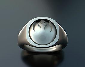 Star Wars Rebel - Alliance Starbird Ring 3D print model