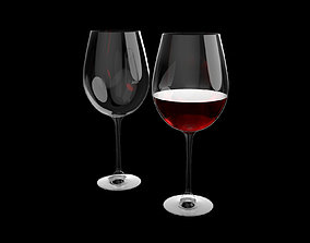 stemware 3D printable model Wine glass