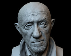 Mike Ehrmantraut from Breaking Bad and 3D print model 3