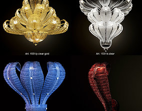 3D model Glass-and-Glass Murano Naga collection