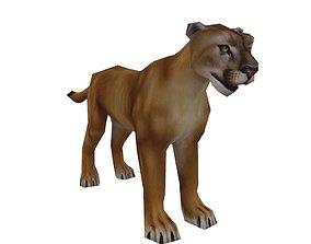 Florida Panther 3D asset