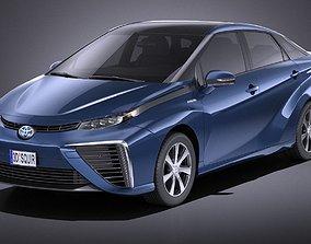 Toyota Mirai 2018 VRAY 3D model