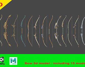 weapon bow 3D model