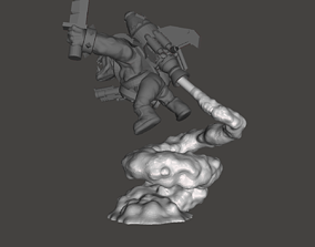 3D printable model Stormboyz Rokkit Pack Smoke Stand