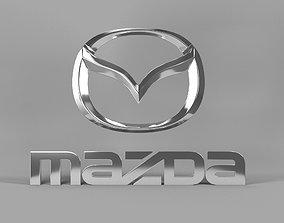 Mazda logo 3D standard