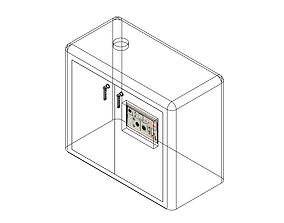 Trailer Generator 3D asset rigged