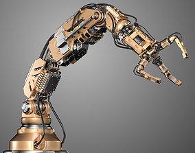 3D model Robotic Arm 2 Rigged