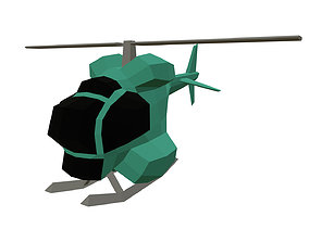 the one helicopter 3D printable model