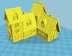 3D printable model Medieval House 66