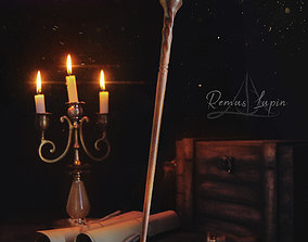 Remus Lupin Wand - Harry Potter 3D printable model