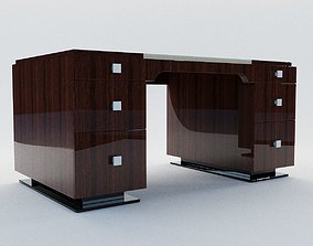 Writing desk - Art Deco style 3D model